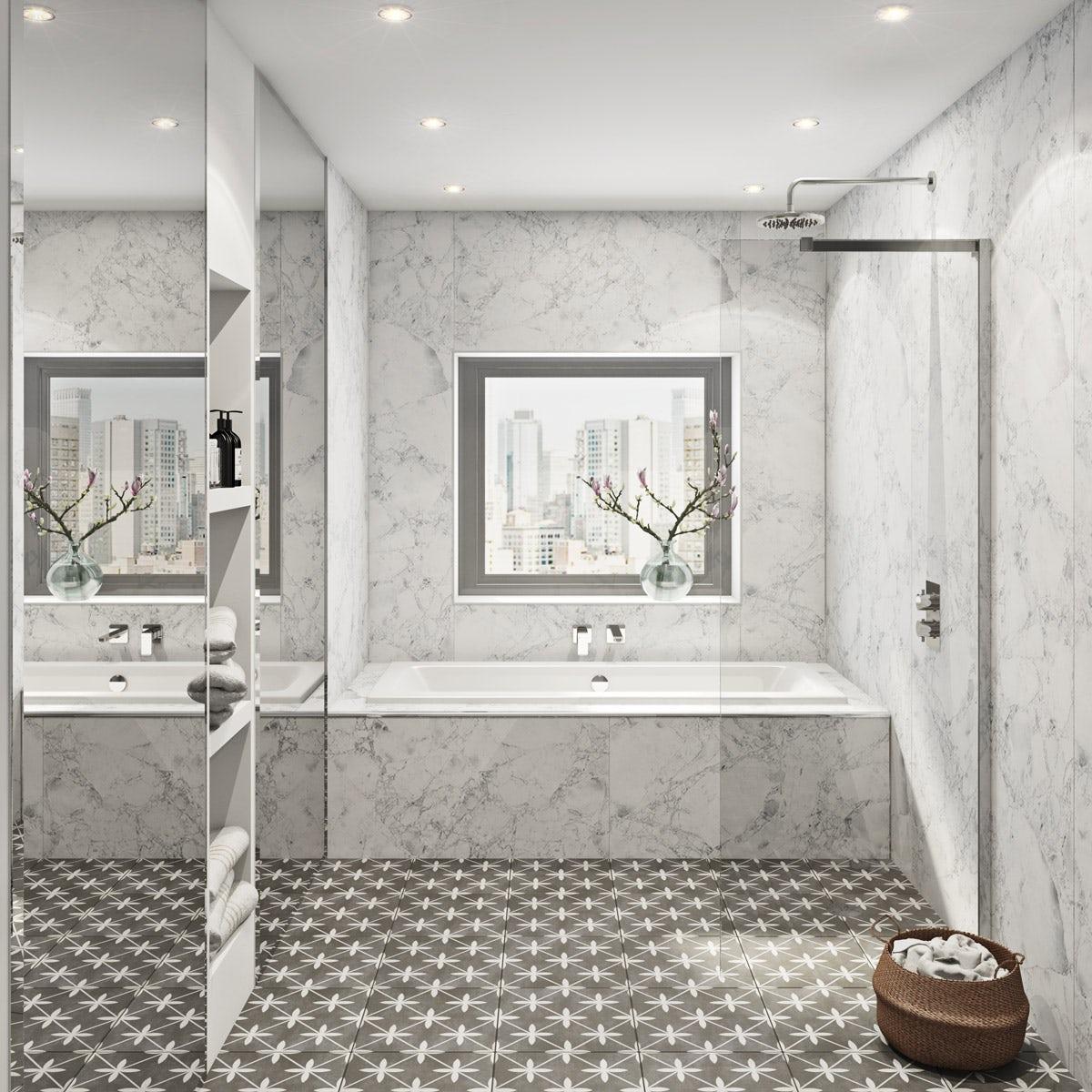 The Multipanel Linda Barker Bianca Luna Hydrolock Shower