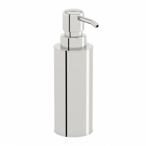 Options Freestanding Slim Stainless Steel Soap Pump Dispenser