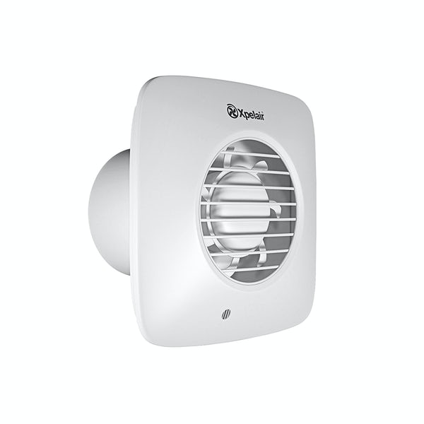 Xpelair simply silent timer bathroom square extractor fan