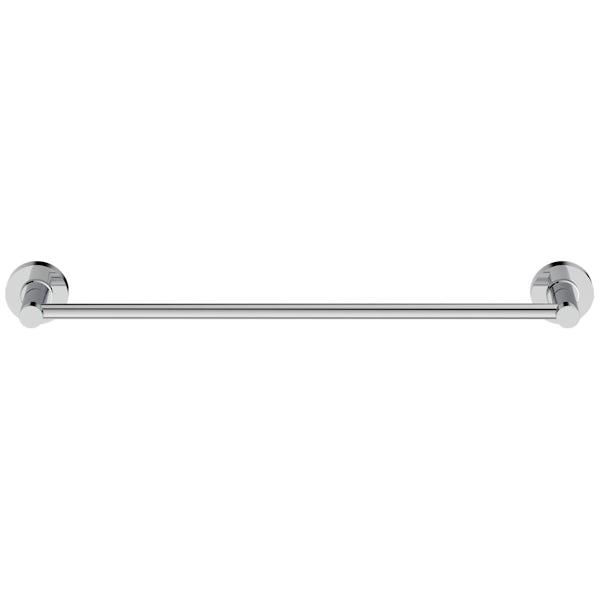 Ideal Standard IOM chrome towel rail 450mm