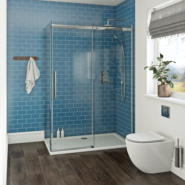 Mode Harrison 10mm easy clean rectangular shower enclosure