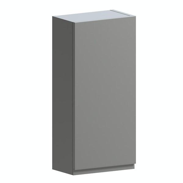 Orchard Wharfe slate grey wall hung cabinet 650 x 300mm