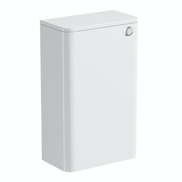 Mode Ellis white back to wall toilet unit