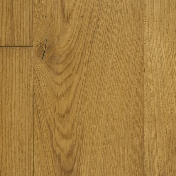 Tuscan Vintage Classic Oak light smoked 3 ply brushed engineered wood flooring