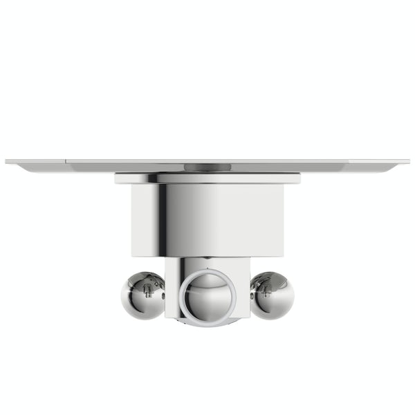 The Bath Co. Camberley triple thermostatic  shower valve with diverter
