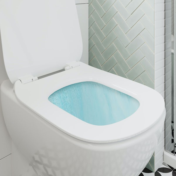 Ideal Standard Tesi White Back To Wall Unit Toilet With