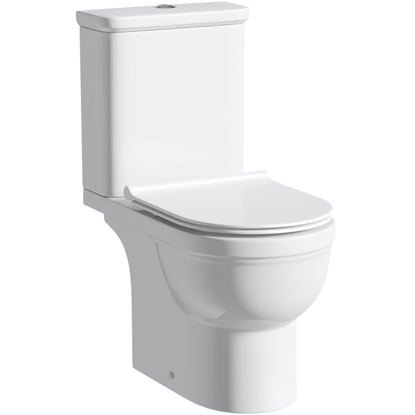 Orchard Elsdon Close Coupled Toilet Inc Soft Close Slim Seat