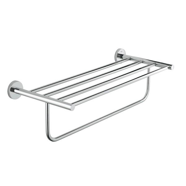Grohe BauCosmopolitan multi-towel rack 510mm