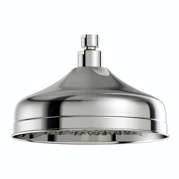 The Bath Co. Barrington traditional shower head 200mm