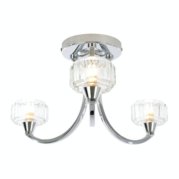 Forum Hemera 3 light bathroom ceiling light