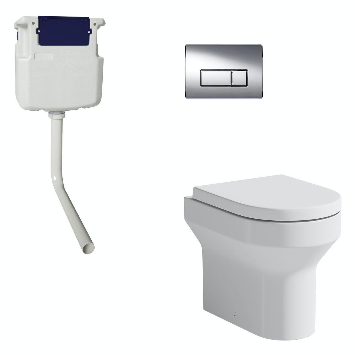 Orchard Wharfe Back To Wall Toilet With Soft Close Seat