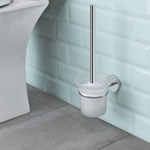 Grohe BauCosmopolitan toilet brush set