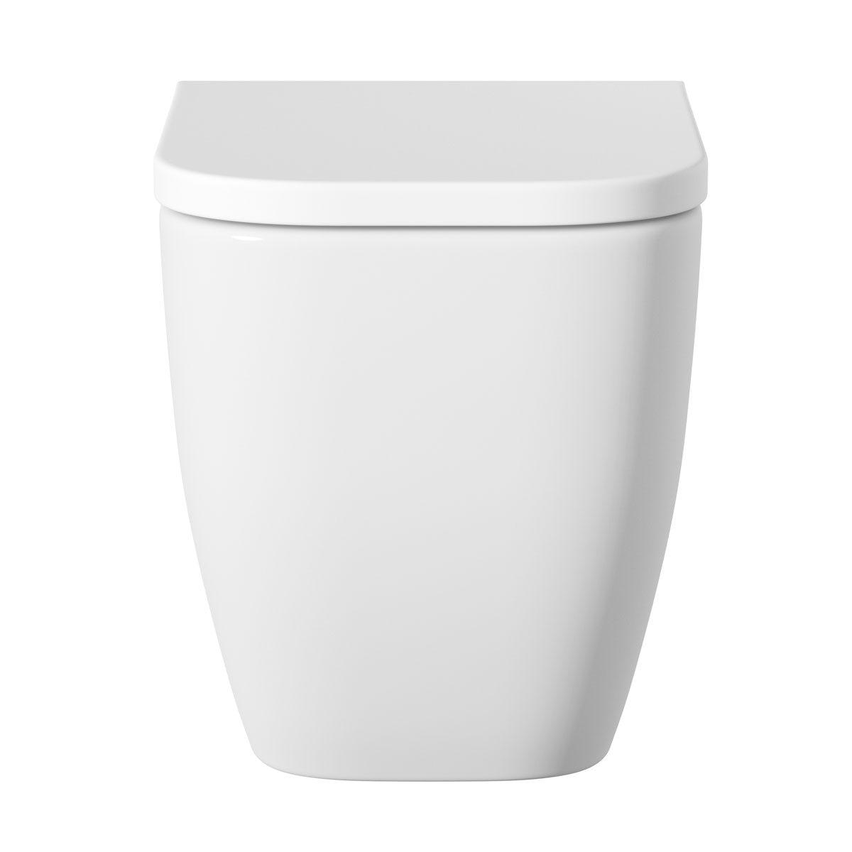 Mode Ellis Back To Wall Toilet Inc Soft Close Seat