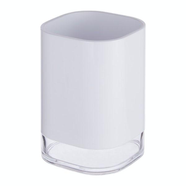 Accents White acrylic tumbler