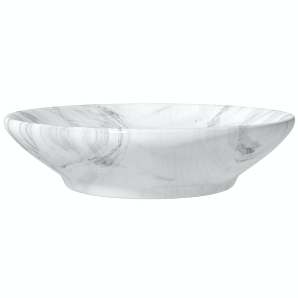 Accents marble effect soap dish