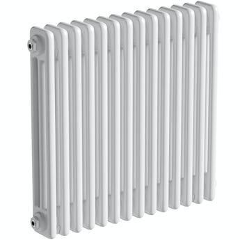 The Heating Co. Corso white 3 column radiator