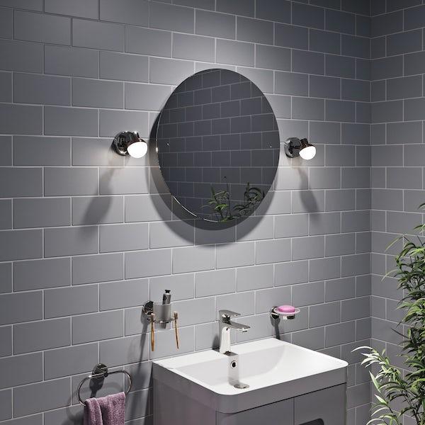 Forum Mesic round bathroom wall spot light