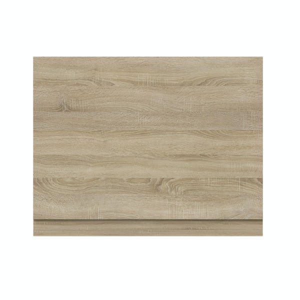 Orchard Wye oak bath end panel 680mm