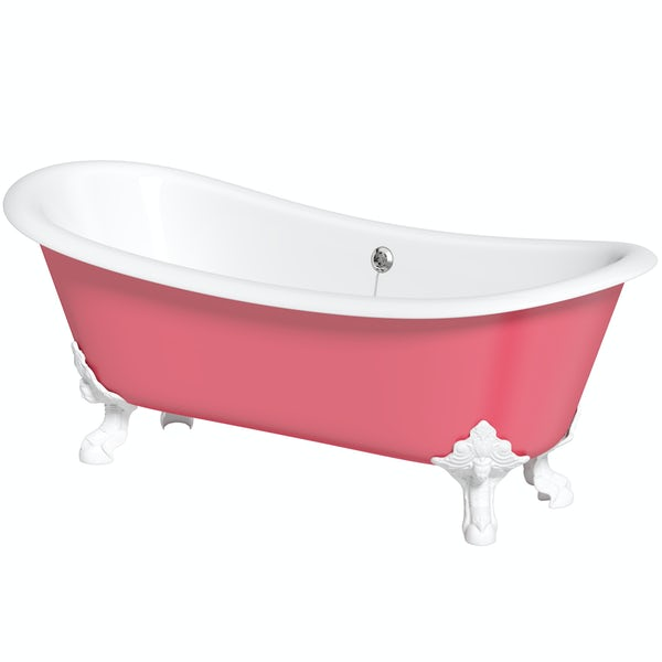 Artist Collection Pucker Up Pink cast iron bath
