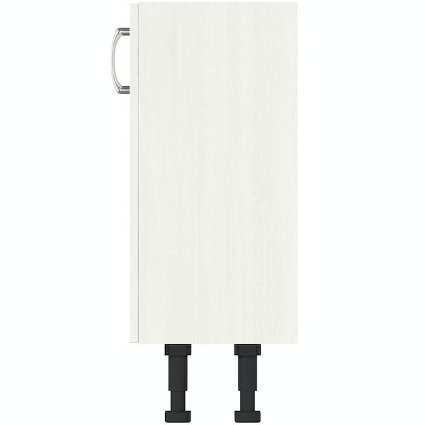 The Bath Co. Newbury white floor cabinet 500mm