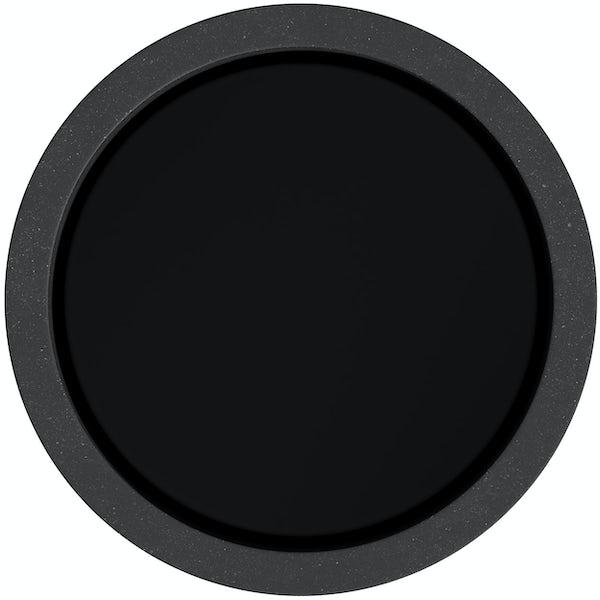 Accents black tumbler