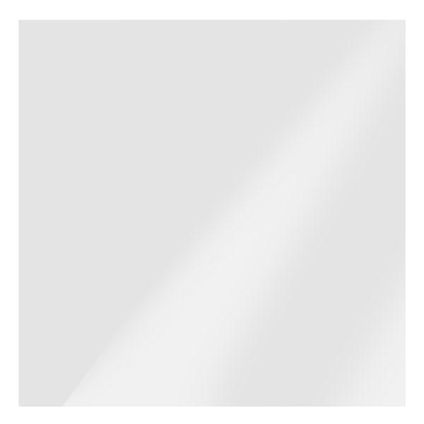 Clarity plain flat gloss white wall tile 150mm x 150mm