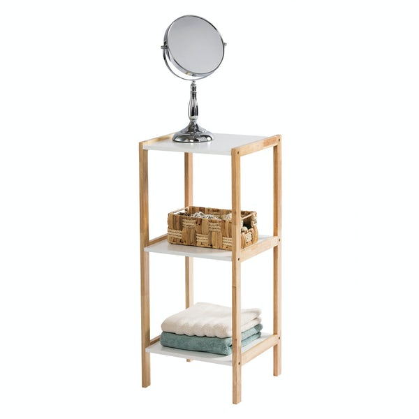 Showerdrape Porto three tier rectangular shelf unit