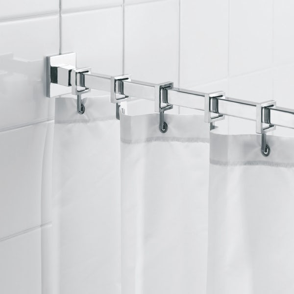 Croydex Luxury square shower curtain rail