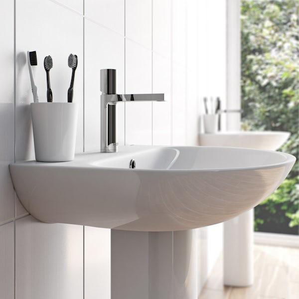 Mode Heath basin mixer tap