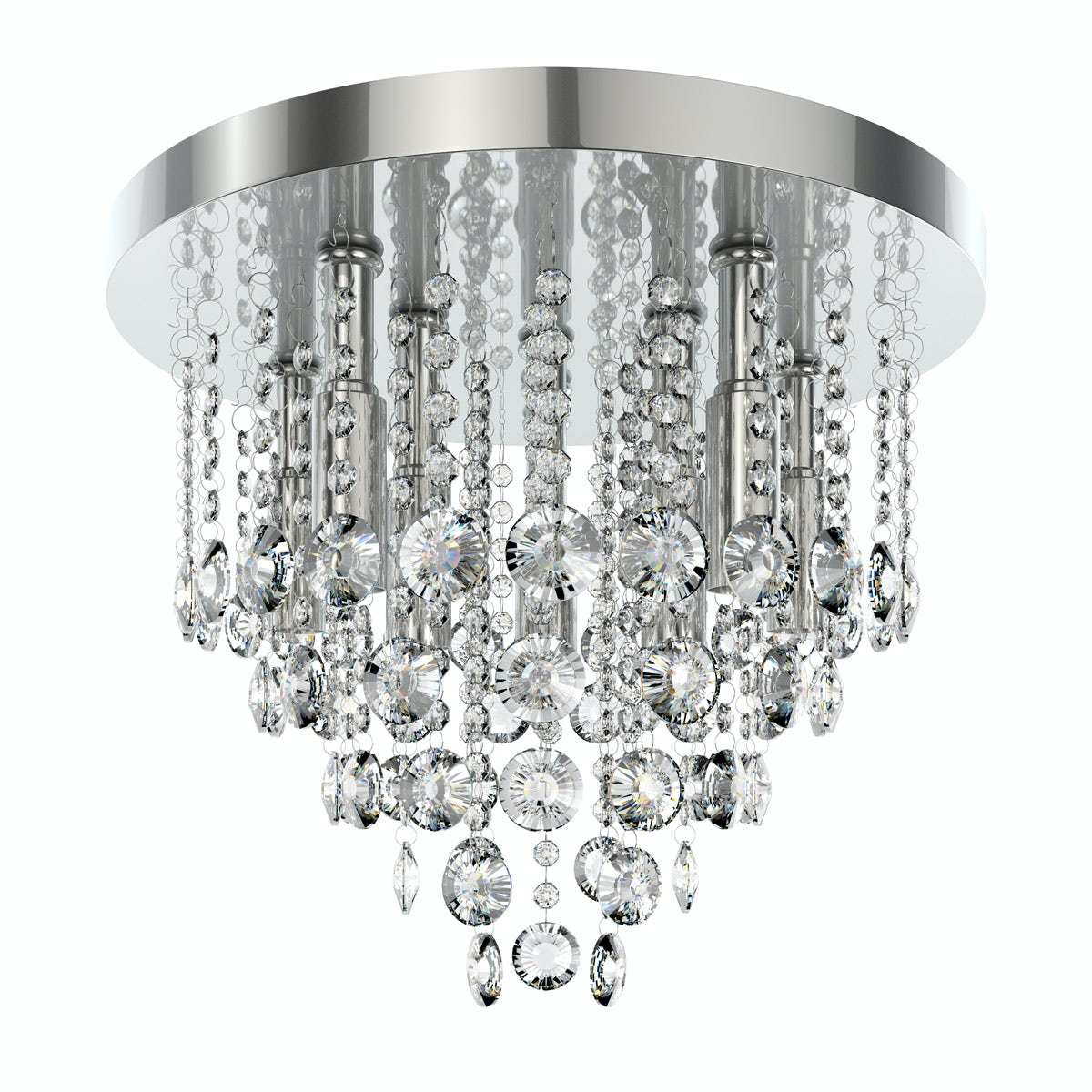 Ceiling Light Offers: Forum Lenah 380mm Flush Bathroom Ceiling Light