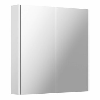 Clarity white mirror cabinet 600 x 600mm
