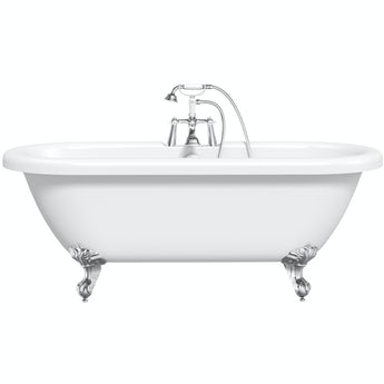 The Bath Co. Dulwich roll top bath with ball and claw feet 1705 x 745