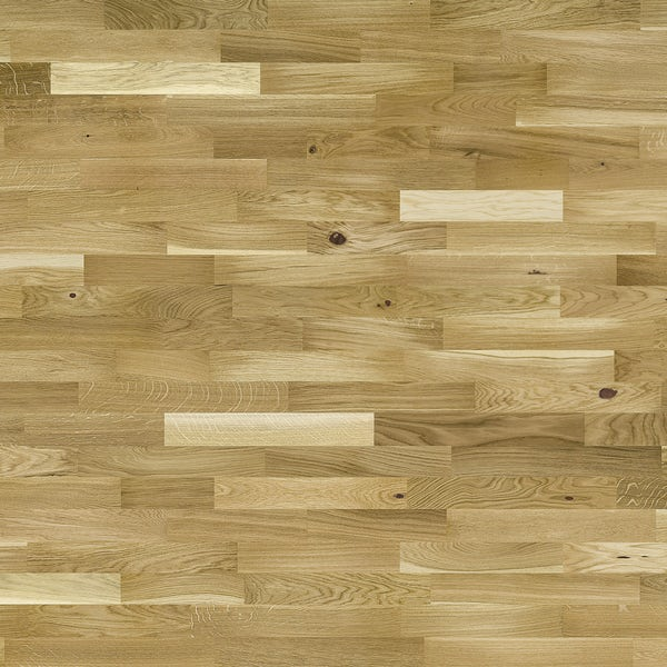 Basix Rustic Oak engineered UV lacquered click wood flooring
