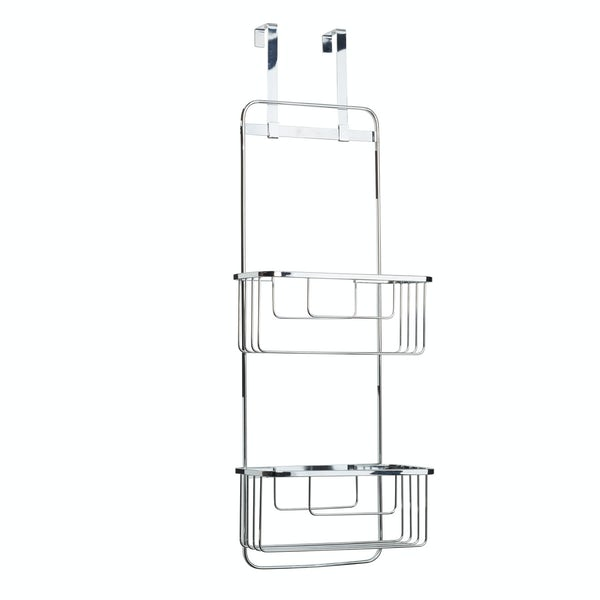 Croydex Hook over door double storage basket