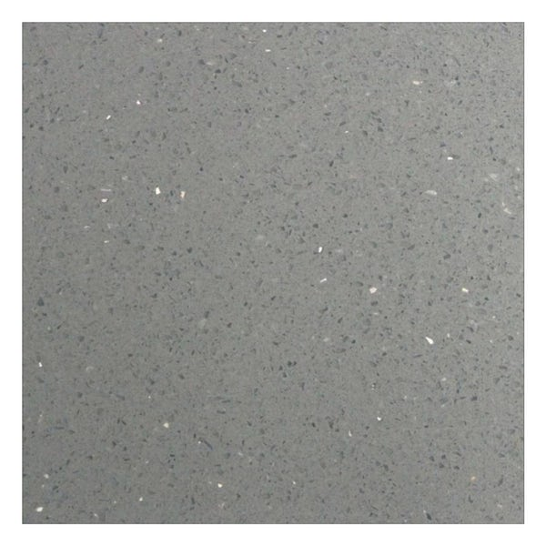 Galaxy grey quartz wall and floor tile 600mm x 600mm
