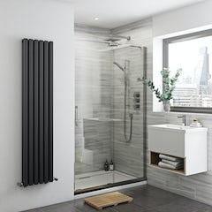 Main image for Mode Carter premium 8mm easy clean right handed sliding shower door 1400mm