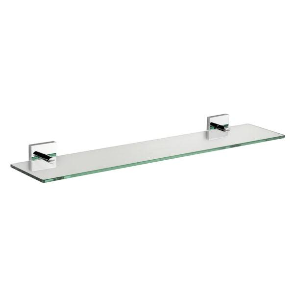 Croydex Chester glass shelf