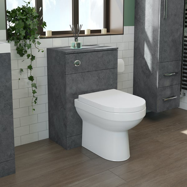 Orchard Kemp back to wall unit and Balance toilet with soft close seat
