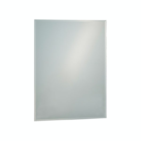 Showerdrape Fairmont 60cm x 45cm rectangular mirror