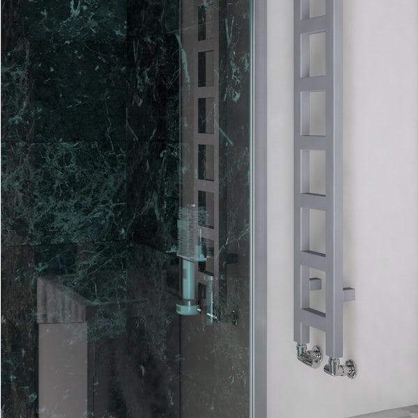Terma Easy sparkling gravel designer towel rail