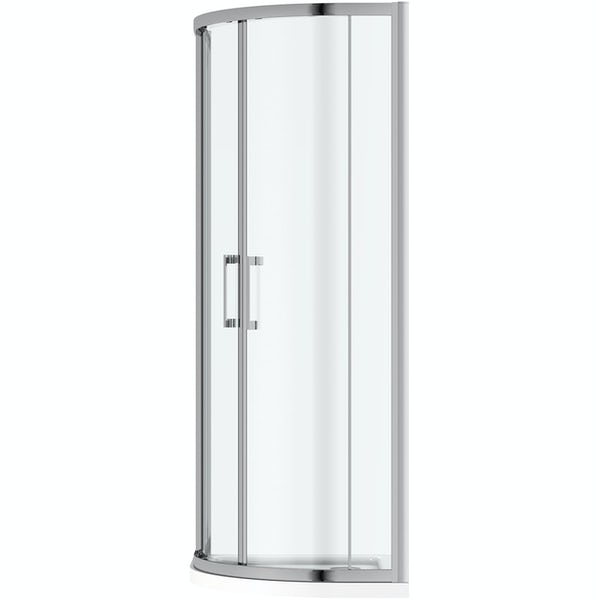 Mode Carter 8mm framed offset quadrant shower enclosure