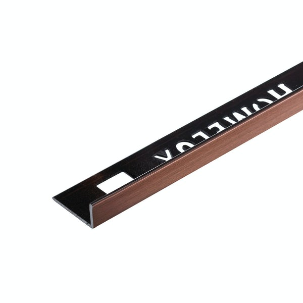 Homelux aluminium copper tile trim 10mm