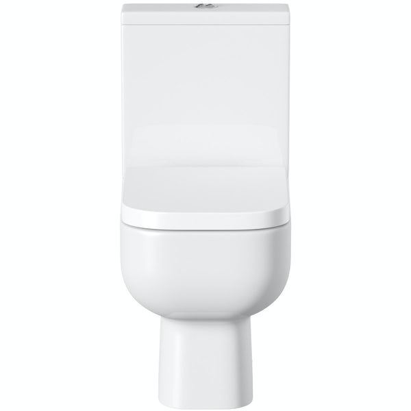 RAK Series 600 close coupled toilet with soft close seat