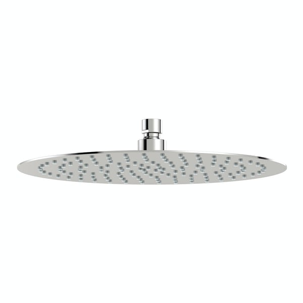 Mode Renzo round slim stainless steel shower head 300mm