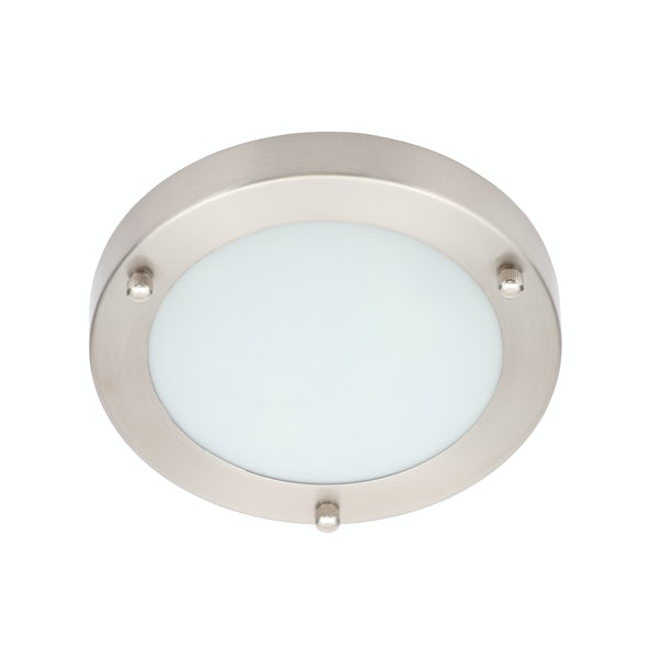 Forum Draco small round flush bathroom ceiling light