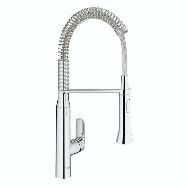 Grohe K7 Profi-spray kitchen tap medium