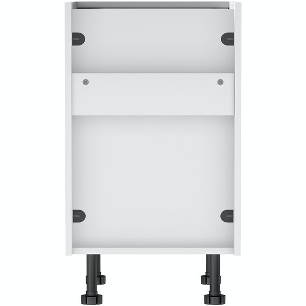 Schon Chicago white slab 3 drawer unit