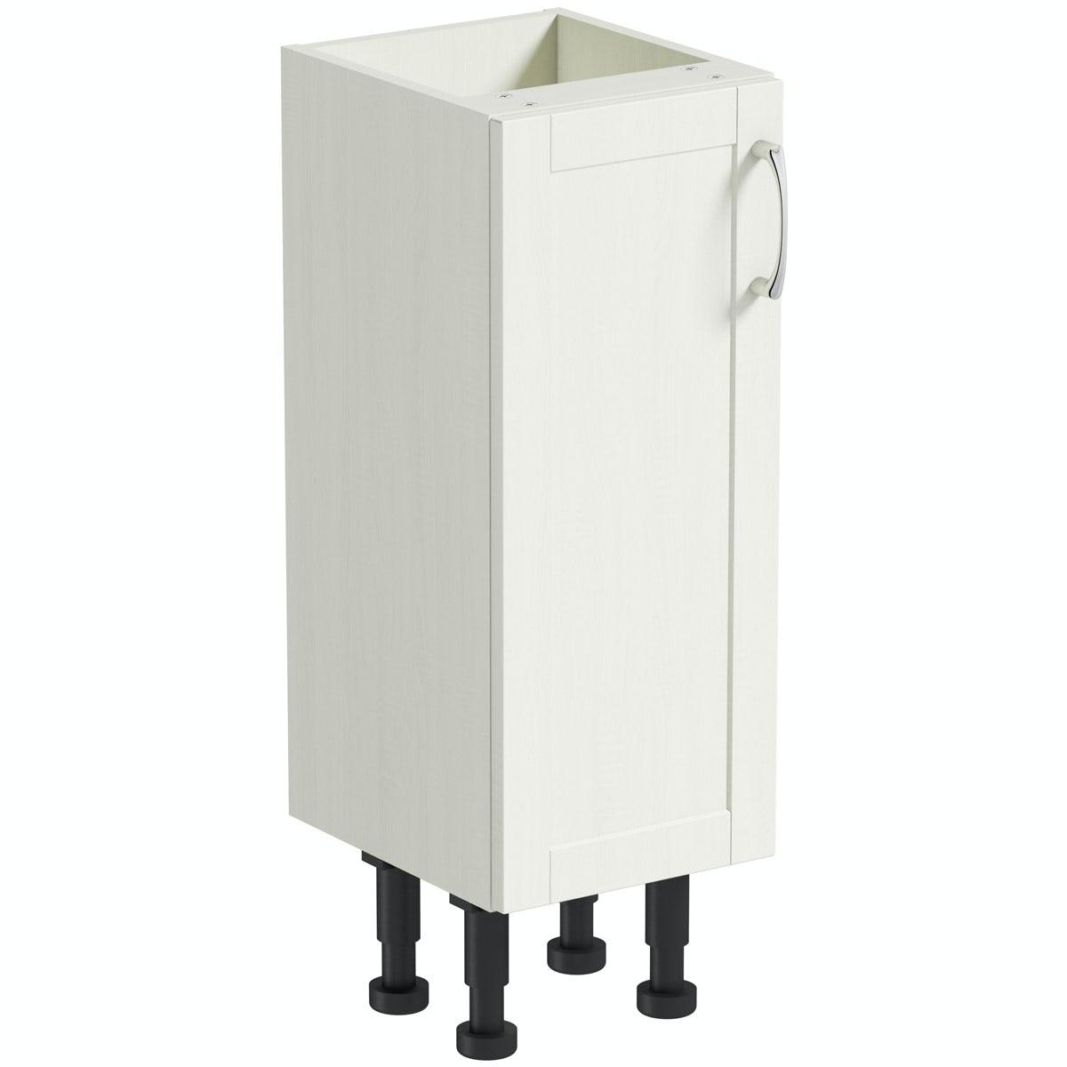 The Bath Co. Newbury white floor cabinet 300mm
