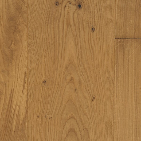 Tuscan Vintage Classic Oak light smoked 3 ply hand scraped engineered wood flooring