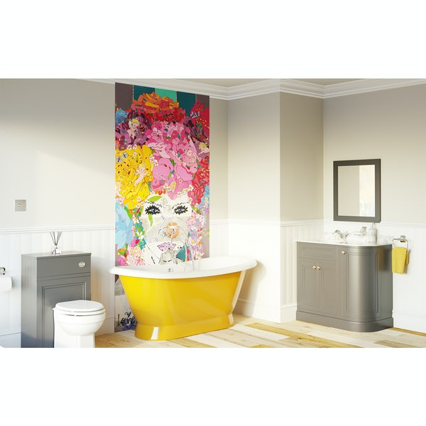 Louise Dear The Serenade Yellow bathroom suite with freestanding bath